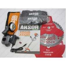 БензоКоса Aksor-ES A5500 electric (с электростартером)